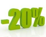 Descuento 20 % del 20 junio al 30 de julio